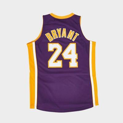 NBA 洛杉矶湖人队 科比布莱恩 经典球衣<br />$300(约1921元)